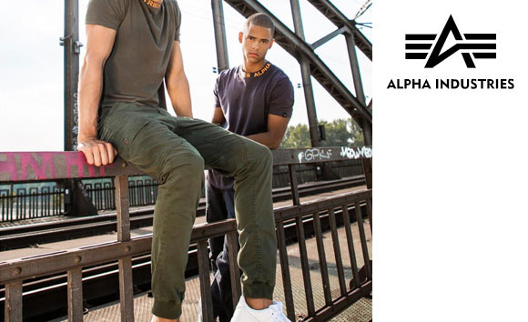 Długie spodnie Alpha Industries