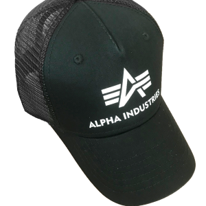Czapka z daszkiem ALPHA INDUSTRIES BASIC TRUCKER