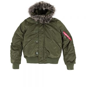 N2B VF 59 Alpha Industries dark green