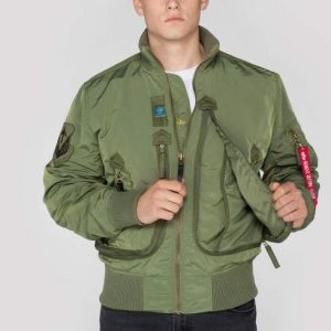 Kurtka Prop ALPHA INDUSTRIES sage-green (Oliwkowa)