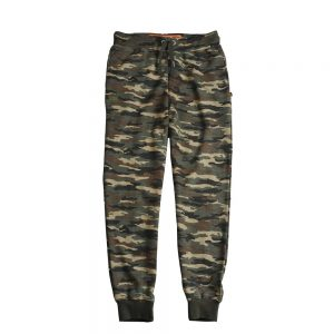 Spodnie dresowe ALPHA INDUSTRIES X-FIT LOOSE PANTS woodland
