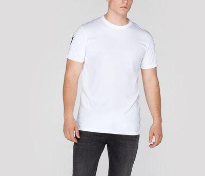 T-shirt ALPHA INDUSTRIES NASA T biała