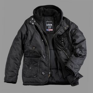 Kurtka Alpha Industries Cobbs II - czarna/black