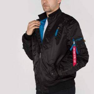 Kurtka FALCON II ALPHA INDUSTRIES czarna