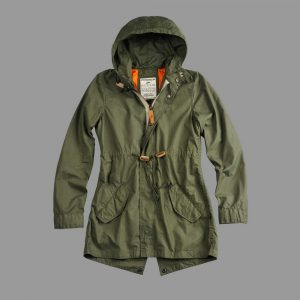 Damska Kurtka ALPHA INDUSTRIES parka Light Weight Fishtail Wmn