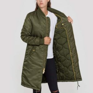 Kurtka MA-1 PM COAT WMN ALPHA INDUSTRIES