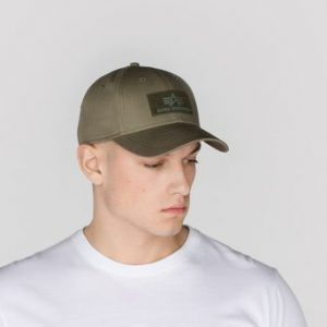 Czapka z daszkiem ALPHA INDUSTRIES VLC dark green