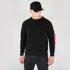 alpha-industries-x-fit-sweat-x-fit-bluza black
