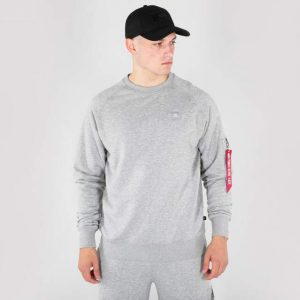 alpha-industries-x-fit-sweat-x-fit-bluza grey