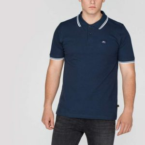 navy white stripe polo II Alpha Industries