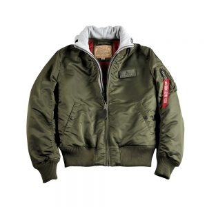 Alpha Industries MA-1 D-tec dark green