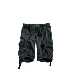 Alpha Industries Jet Short black czarne