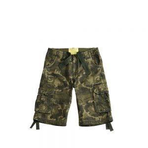 Alpha Industries Jet Short olive camo_przod