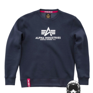 bluza-ALPHA-INDUSTRIES-BASIC-SWEATER-granatowa