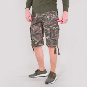 Jet Short woodland camo Alpha Industries_1