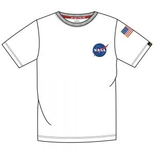 space shuttle t-shirt white_2